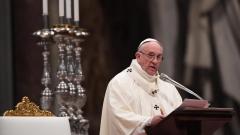 Папата с писмо до Асад