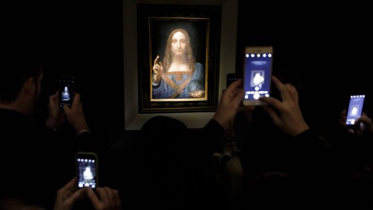 Най-скъпата картина в света ще бъде в Лувъра в Абу Даби