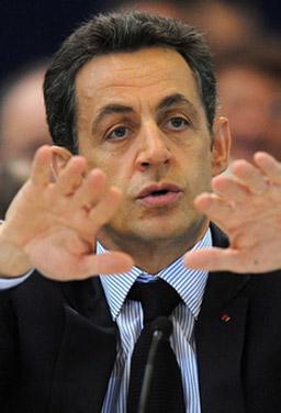 Саркози изключва възможността за референдум за фискалния пакт