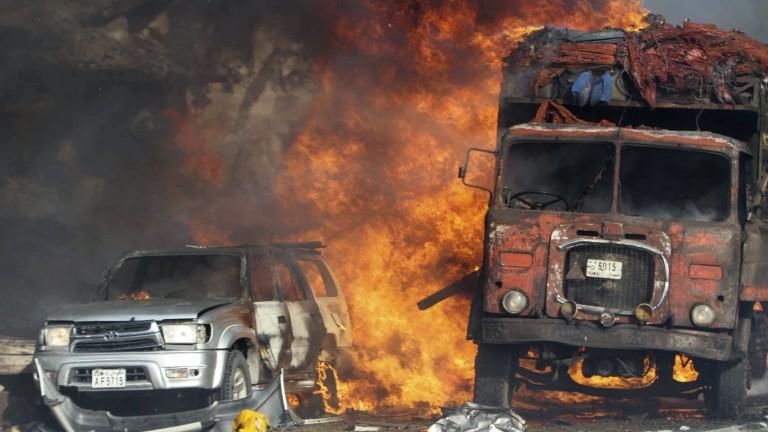 Атентат уби 15 души в Сомалия
