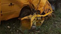 """Микробус се обърна в канавка на """"Тракия"""", загина жена"""