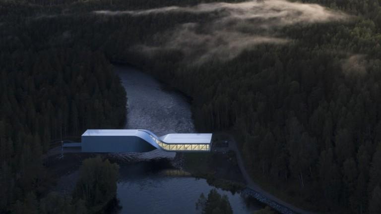 Снимка: Усуканият мост, който всъщност е музей