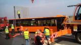 """Обвиниха турския тираджия, блъснал градския автобус на """"Тракия"""""""