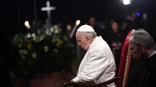 Папата призова за мерки срещу климатичните промени