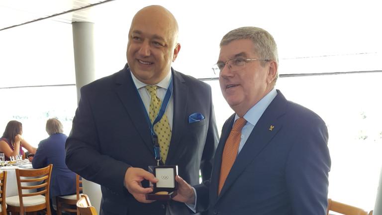 Министърът на младежта и спорта Красен Кралев участва в символичната