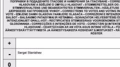 Станишев публикува корекцията в гласуването си
