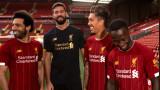 Ливърпул представи специалния си домакински екип за сезон 2019/20