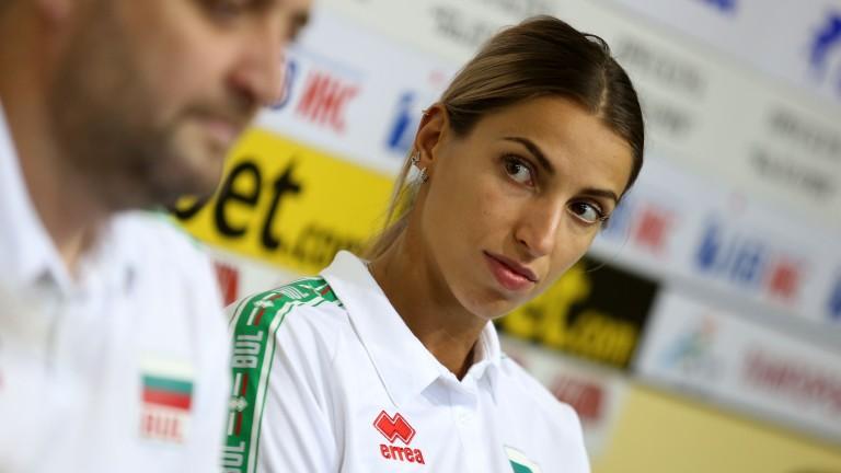 Капитанът на женския национален отбор на България по волейбол Елица