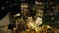 20 души са затрупани под рухнала сграда в Мумбай