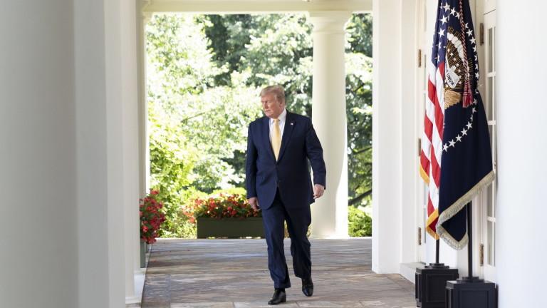 Американският президент Доналд Тръмп заяви, че изявленията на