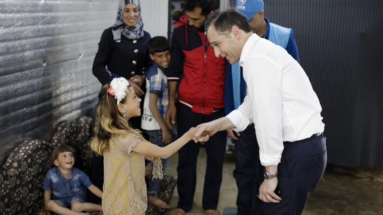 Германският министър на външните работи Хайко Маас посети Йордания, предаде