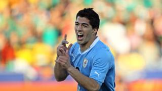 "Уругвай спечели група ""А"" след 1:0 над Мексико"