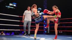 SENSHI 4: Теодора Кирилова отказа Бегаим Какчекеева след два рунда здрава битка