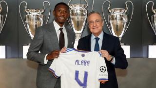 Представиха Алаба в Реал, взе номера на Рамос
