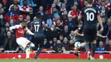 Арсенал победи Евертън с 2:0