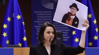 Тихановская обеща победа над Лукашенко, ЕС я награди за защита на права