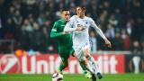 ФК Копенхаген - Лудогорец 0:0 (Развой на срещата по минути)