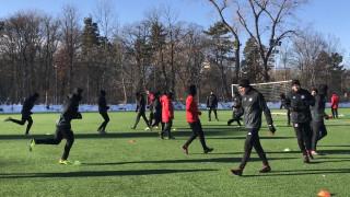 ЦСКА уреди контрола с тим от Втора лига