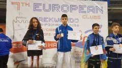 Седем медала за България от Европейското клубно първенство по таекуондо в Гърция