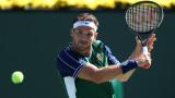 Великолепен Григор Димитров стигна до нов обрат и се класира на полуфинал в Индиън Уелс