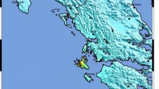 6.1 по Рихтер в западната част на Гърция