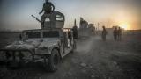 """Иракската армия прогони """"Ислямска държава"""" от ключов град в подстъпите към Мосул"""