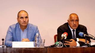 Борисов: Истинската същност на БСП се крие в антикорупционния им закон