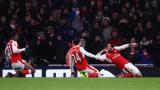 """Победа номер 20 за Арсенал през сезона, Саутхемптън капитулира на """"Сейнт Мери"""""""