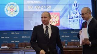 Путин подаде документи за кандидат-президент