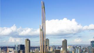 80-етажна дървена кула ще е втората най-висока сграда в Лондон