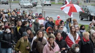 30 задържани на днешния протест в Беларус