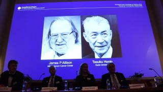 Американец и японец поделят Нобела за медицина за противоракова терапия