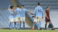 Манчестър Сити пише история в Шампионска лига