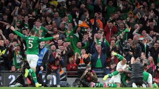 Ирландия с безценна точка срещу Швейцария, Дания размаза Гибралтар