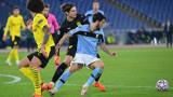 Лацио се завърна в Шампионската лига с бой над Борусия (Дортмунд)