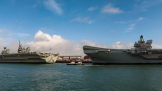 Британски и френски самолетоносачи създават мощна експедиционна армада