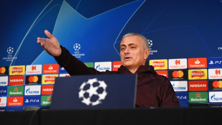 Жозе Моуриньо: Принадлежа на най-високото ниво във футбола!