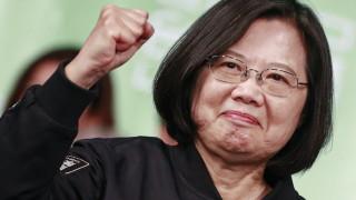 Китай трябва да приеме реалността за независимостта на Тайван, призова Цай Ингвен