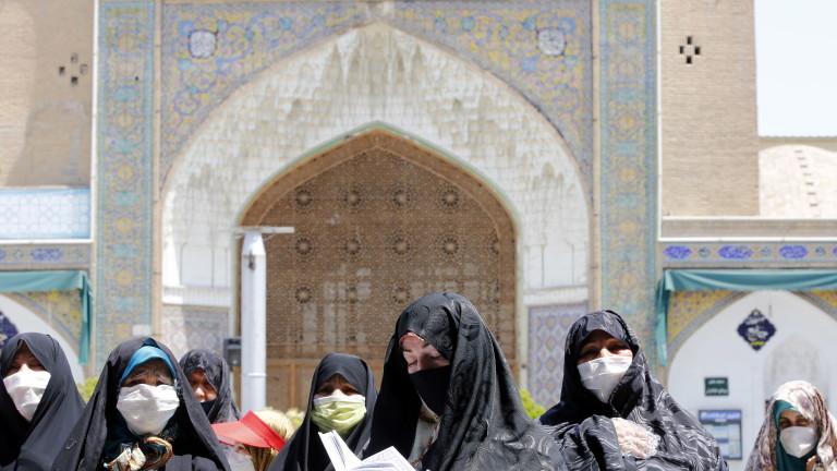 Министерството на здравеопазването на Иран обяви, че в страната са