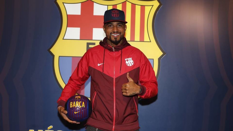 Половинката на Боатенг го зарязала заради... трансфера в Барселона