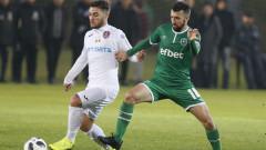Капитанът на Лудогорец е с минимални шансове да играе срещу Левски