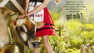 Хайди Клум облече баварска рокличка в реклама на мляко (видео и галерия)