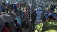 Наплив на мигранти в Северна Гърция от Турция