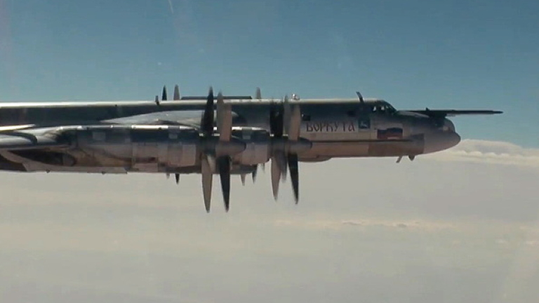 """За първи път САЩ прихванаха руски """"мечоци"""" с изтребители Су-35 до Аляска"""