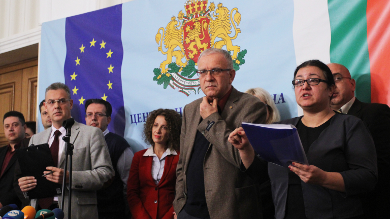 ЦИК изпрати референдума в парламента