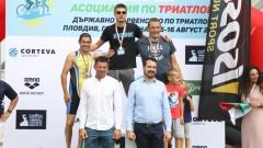 Зам.-министър Павлов награди държавните шампиони по триатлон