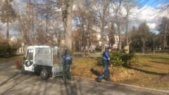 Електрически машини ще чистят тротоарите в София