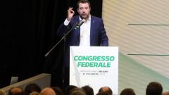 Сенатът на Италия одобри искането на съда разследването срещу Салвини да продължи