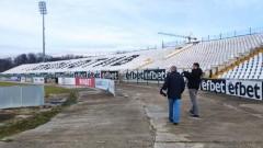 "УЕФА инспектира стадион ""Локомотив"" в Пловдив"
