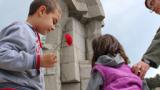 Паметникът на Ботев край Калофер се руши